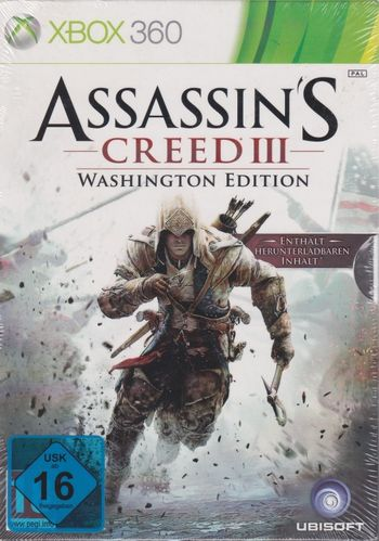 Assassin's Creed III -Washington Edition USK 16
